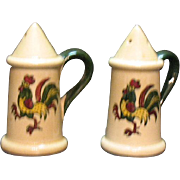 Vintage Metlox Vernon Poppytrail California Provincial S&P Shakers 1956-82 Very Good Condition