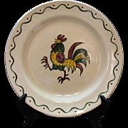 Vintage Metlox Vernon Poppytrail California Provincial 12 Inch Chop Plate 1956-82 Very Good Co