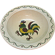 Vintage Metlox Vernon Poppytrail California Provincial Round 10 Inch Vegetable Bowl 1956-82 Ve