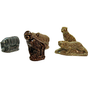Vintage (5) Wade Animal Figurines 1950-60s Very Good Condition