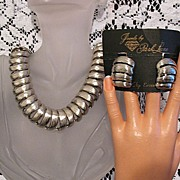 SALE 50% OFF~Vintage Retired Park Lane Necklace & Earrings Set~Original Packaging~UNWORN