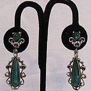 SALE 50% OFF~Gorgeous Vintage Dangle Earrings~Victorian Revival