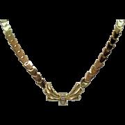 SALE Custom Design Elegant Vintage 18K 750 Diamond Estate Necklace~Appraisal