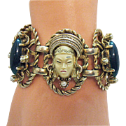 Wonderful Vintage Selro Selina Asian Princess Bracelet