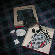 SOLD Vintage 1950's Tagged Cosmopolitan Ginger Doll Boxed Outfit!