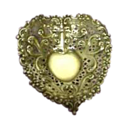 Gorham Sterling Silver Small Heart Dish