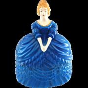 Figural Lady Dresser Box