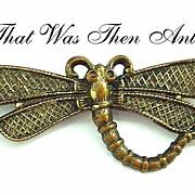 Dragonfly Pin - Brass