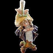 Teplitz Miniature Art Nouveau Bust of Man