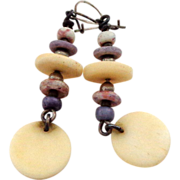 Vintage Dangle Earrings from the early 1970s