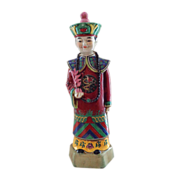 SOLD Chinese Statue of Court Officer in Traditional Costume