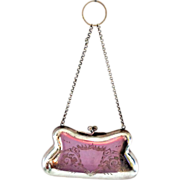 Sterling Silver Minaudiere Purse