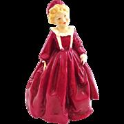Royal Worcester Doughty Grandma's Dress Figurine