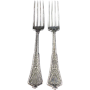 Tiffany & Co. Antique Sterling Silver Persian Fork