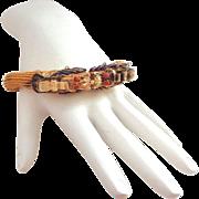 SALE Chinese Dragon Bracelet Enamel on Silver