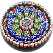 SOLD Large 1976 Perthshire Scotland Millefiori Paperweight
