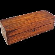 Lovely Antique Oak Treen Box