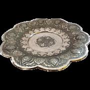 Rare Antique Silver Persian Islamic Decorated Tazza