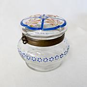 Antique Circa 1900 Moser Lady's Dresser Or Ring Box