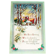 New Year's Greeting - 1915
