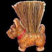 Syroco Scotty Dog Clothes Brush