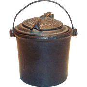 Antique Cast Iron Glue Pot Patented 1872-1875