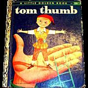 Little Golden Books: Tom Thumb, 1958, B Edition