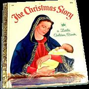 Little Golden Children's Book: The Christmas Story, #158