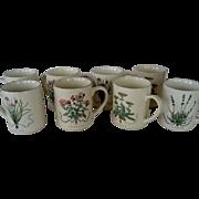 Set of 6 Woodbine Meadows Mugs - Certified International