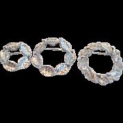 Set of 3 Gerry's Round Leaf Pins