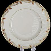 Lenox Essex Maroon Smooth Salad Plates - 12 Available