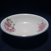 Homer Laughlin Wild Pink Rose Sauce/Berry Bowls - 11 Available