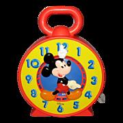Disney Mattel See N' Say Clock - 1981