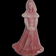 Fenton Glass Rosalene Bridesmaid Figurine