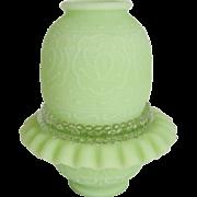 Fenton Lime Green Satin 3-Piece Fairy Light
