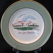 SALE Taylor, Smith, Taylor Zane Grey Museum Plate
