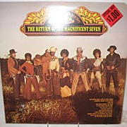 SALE Supremes & Four Tops Record Album - Return Of The Magnificent Seven