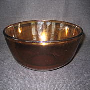 SALE Fire King Amber Mixing Bowl