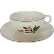 Royal China Queens Rose Cup and Saucer - 6 Available