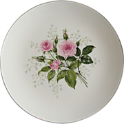 Royal China Queen's Rose Salad Plate - 7 Available
