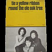 Tie A Yellow Ribbon Round The Ole Oak Tree - Sheet Music