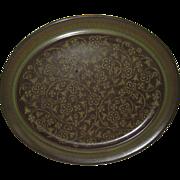 """Franciscan Madeira 13 1/2"""" Platter"""