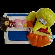 Sesame Street Big Bird Ceramic Coin Bank - Jim Henson