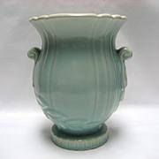 "SALE Weller Pottery Turquoise Raydance 7 1/2"" Vase"