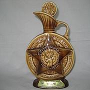 Jim Beam 1968 B.P.O.E. Bourbon Whiskey Decanter