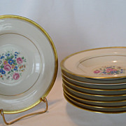 SALE Theodore Haviland New York Windsor Rimmed Soup Bowls