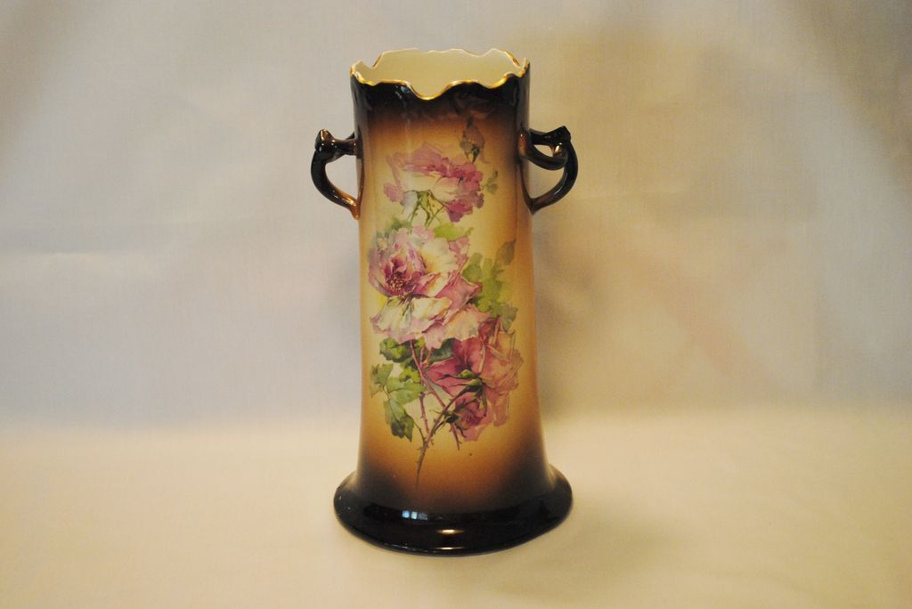 Goodwin Usona Flowered Vase From Thedaisychain On Ruby Lane