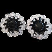 Pair of W. Germany Clip-On Earrings