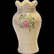 SALE Belleek Floral Vase