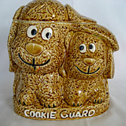 "SOLD Enesco ""Cookie Guard"" Cookie Jar - Dogs"
